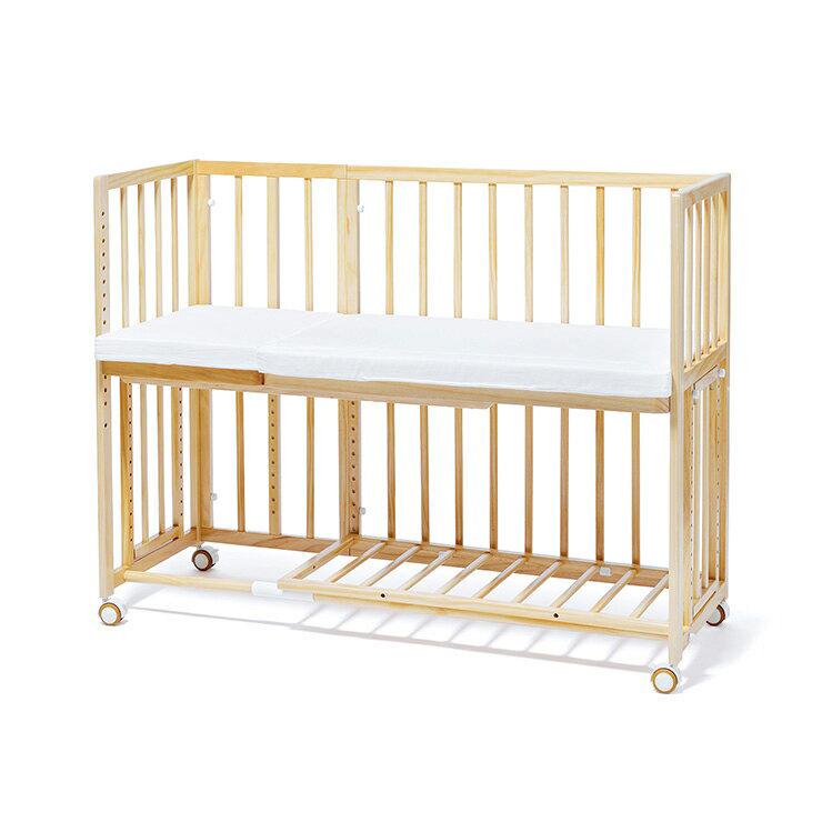 yamatoya 大和屋 soinel+long そいねーる+ロング ベビーベッド 添い寝ベッド 赤ちゃんベッド(代引不可)【送料無料】