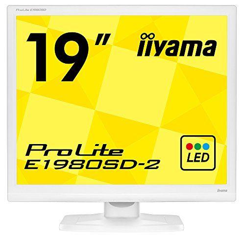 飯山電機 液晶ディスプレイ 19インチ 白 1280×1024 E1980SD-W2