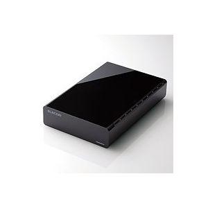エレコム HDD USB3.0対応外付けハードディスク/2TB/ブラック ELD-CED020UBK