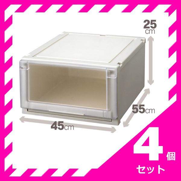 天馬 フィッツユニット 4525 【お買い得 4個セット】 fits チェスト 収納 (代引不可)【送料無料】