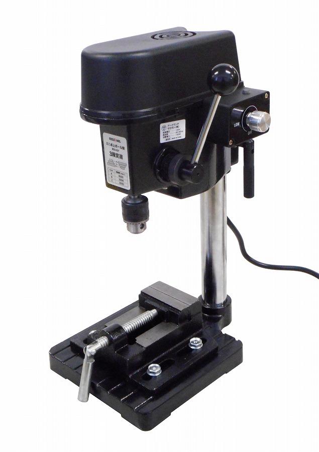 アークランドサカモト GREATTOOL(グレートツール) ミニ卓上ボール盤 3段変速 速度調整 バイス付 MTB-6SP【送料無料】