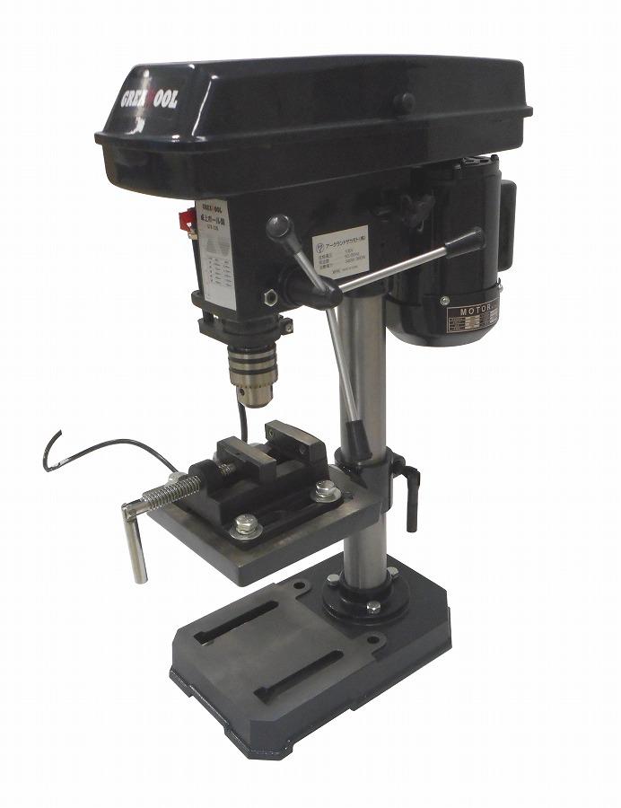 アークランドサカモト グレイトツール(アークランドサカモト) 卓上ボール盤 穴あけ能力(一般鋼材1.5~13mm) 5段階変速付 GTB-13G【送料無料】