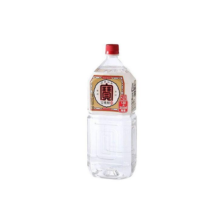 【まとめ買い】 宝酒造(株) 宝酒造 連続25° 宝 ペット 2L x6個セット まとめ セット まとめ売り お酒 アルコール(代引不可)【送料無料】