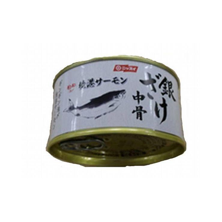 【まとめ買い】ニッスイ 銀鮭 中骨水煮 EO T2号缶 x24個セット まとめ セット セット買い 業務用(代引不可)【送料無料】