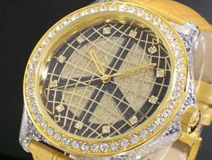 暮らし健康ネット館 ロベルタ スカルパ 腕時計 スワロフスキー RS6043-GPPC【送料無料】, 真子質店 edba787d