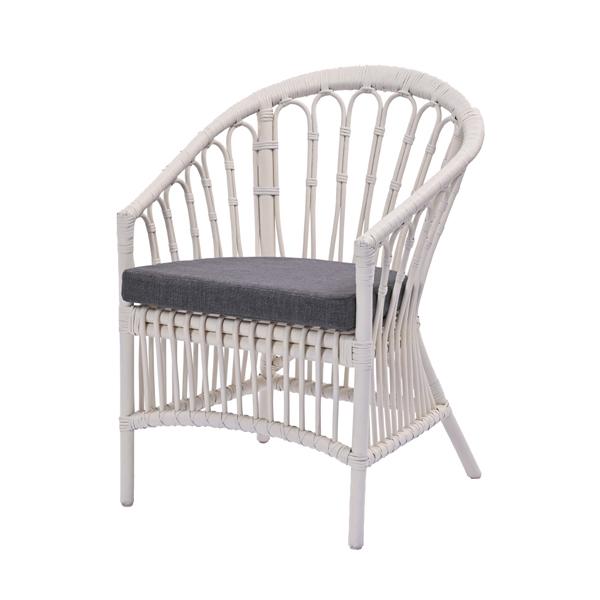 パーソナルチェア ダークグレー 椅子 リビングチェア イージーチェア(代引不可)【送料無料】