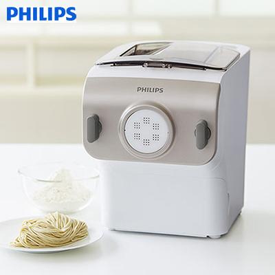 PHILIPS フィリップス ヌードルメーカー HR2365/01 シャンパンゴールド/ホワイト生麺 製麺機 うどん製麺 スパゲッティ【送料無料】