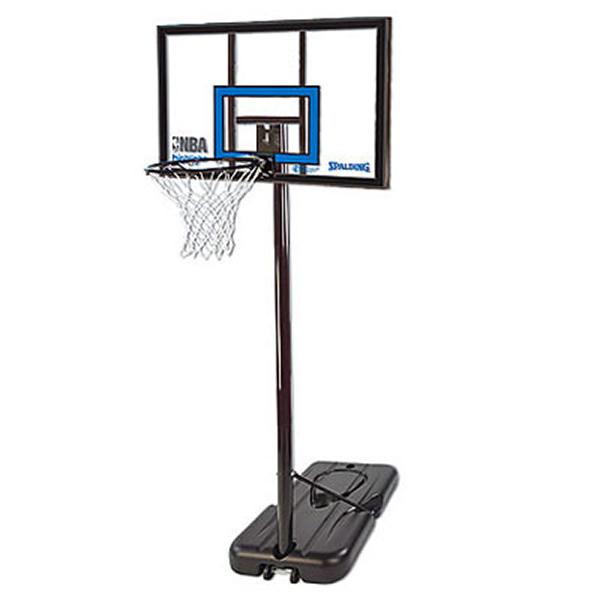 バスケットゴール 屋外用 SPALDING スポルティング ハイライト アクリル ポータブル バスケットゴール 77455CN(代引不可)【送料無料】