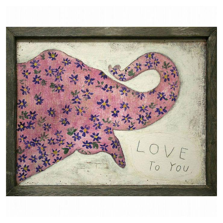 Pink Elephant SUGARBOO AP175GW-20x16inch(代引不可)【送料無料】