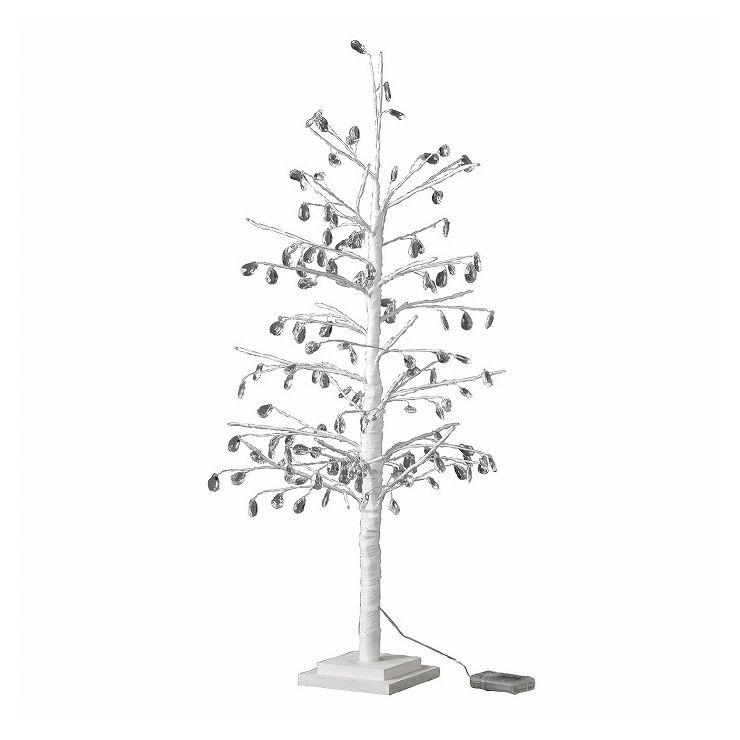 クリスマス LEDブランチツリー クリスタル ホワイト Lサイズ RJXN3930WH(代引不可)【送料無料】