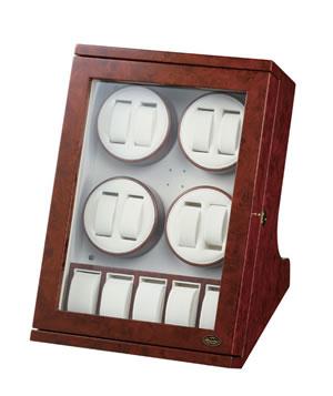 LUHW 8本巻き ワインディングマシーン LED搭載 SE-LUHW30008RD【送料無料】