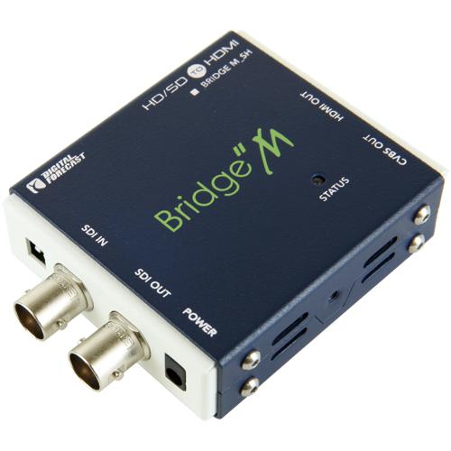 超小型軽量マルチフォーマット対応SDI->HDMIコンバーター エーディテクノ M_SH():リコメン堂