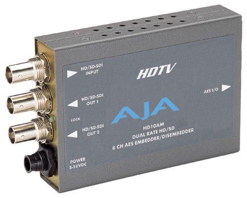 HD/SD エンベ・ディスエンベデッダ AJA Video Systems HD10AM(代引き不可)【送料無料】