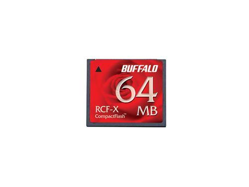 コンパクトフラッシュ 64MB バッファロー RCF-X64MY(代引き不可)【ポイント10倍】