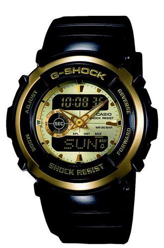 G-SHOCK TheG Treasure Gold (樹脂バンド)(51.7x46.0x16.5(mm)/60g) カシオ計算機 G-300G-9AJF(代引き不可)