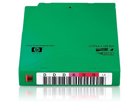 HP LTO4 Ultrium 1.6TB 20巻パック(バーコードラベル付き) 日本HP C7974AN(代引き不可)