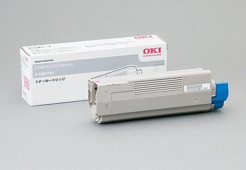 トナーカートリッジ マゼンタ OKI TNR-C4CM1(代引き不可)【S1】