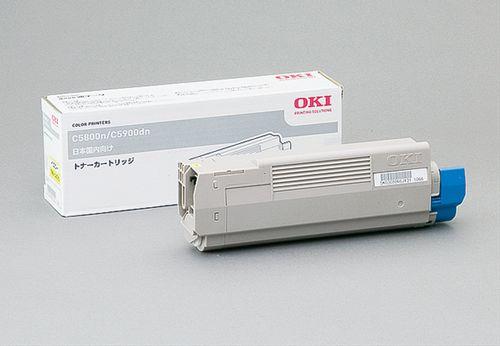 トナーカートリッジ イエロー OKI TNR-C4CY1(代引き不可)【S1】