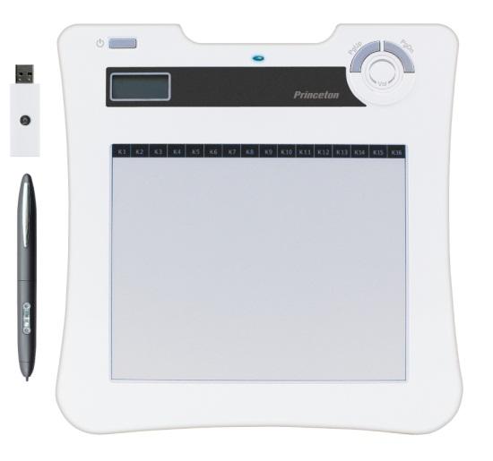 文教関連向け手書きソフトウェア PenPlus Pro SE付属版 ワイヤレスタブレット プリンストン PTB-W1PPS(代引き不可)