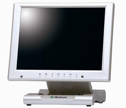 10.4インチXGA液晶ディスプレイ 保護フィルタ搭載タイプ パールホワイト クイックサン QT-1007P(AVG)(代引き不可)
