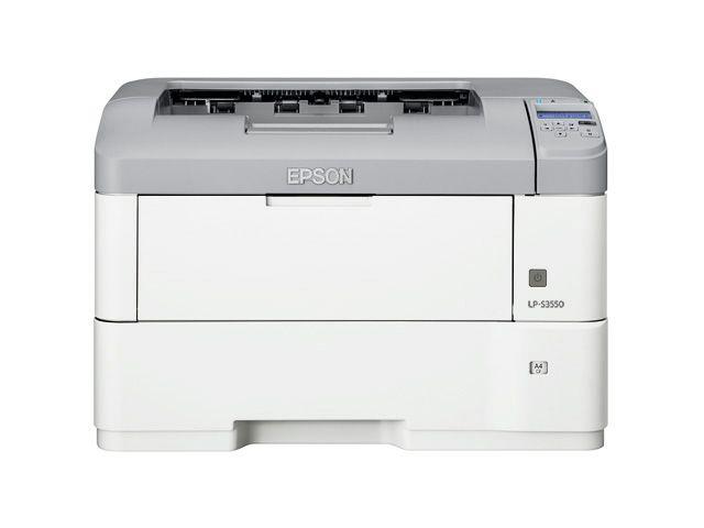 エプソン EPSON A3モノクロページプリンター/40PPM/ネットワーク/両面印刷 LP-S3550(代引き不可)