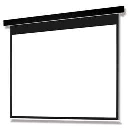 オーエス OSCRP Pセレクション電動スクリーン 黒パネル/ターミナル/150型WXGA SEP-150WM-TRK3-WG103(代引き不可)