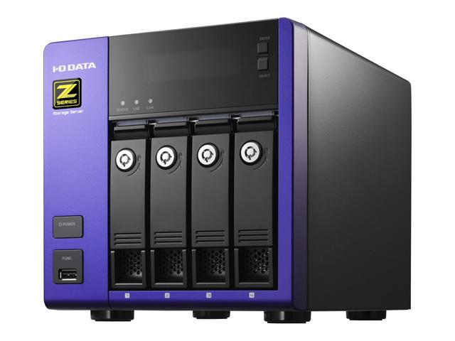 アイ・オー・データ機器 Intel Core i3/Windows Storage Server 2012 R2 Standard Edition 4ドライブNAS12T (HDL-Z4WL12I2)(代引不可)【送料無料】