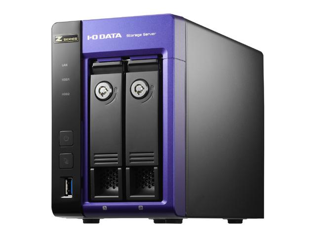 アイ・オー・データ機器 Intel Core i3/Windows Storage Server 2012 R2 Standard Edition 2ドライブNAS12TB (HDL-Z2WL12I2)(代引不可)【送料無料】