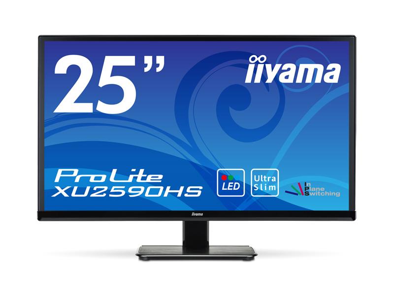 イーヤマ (ProLite)25インチワイドAH-IPS+パネルXU2590HS-B1(1920x1080/D-Sub15Pin/DVI/HDMI/ブラック)(代引不可)