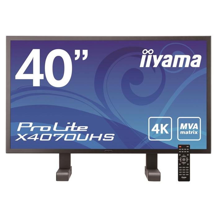 イーヤマ (ProLite)40インチ4K MVA+パネルX4070UHS(3840x2160/DisplayPortx1、HDMIx2、DVI-D、D-Subミニ15ピン)()【ポイント10倍】【送料無料】