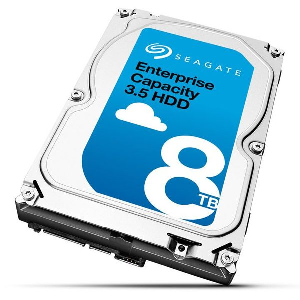 シーゲイト Enterprise Capacity HDD シリーズ 3.5inch SATA 6Gb/s 8TB 7200rpm 256MB ST8000NM0055(代引不可)