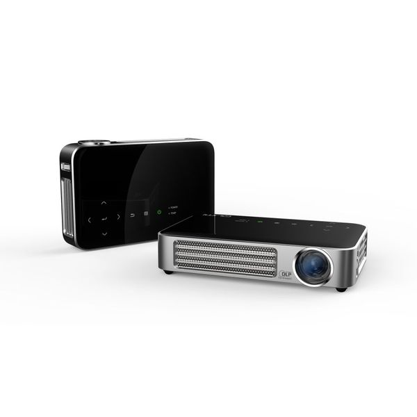 VIVITEK QUMI Q6-BKブラック 超軽量475g 高輝度800ルーメン LEDモバイルプロジェクター WXGA 720P Wi-Fi内蔵(代引不可)