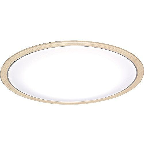 アイリスオーヤマ LEDシーリングライト 木調フレーム 14畳 調光・調色 CL14DL-5.0WF-U(代引不可)