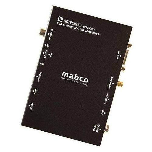 エーディテクノ 業務用スキャンコンバータ VGA-)HDMIコンバータ USC-007(代引不可)