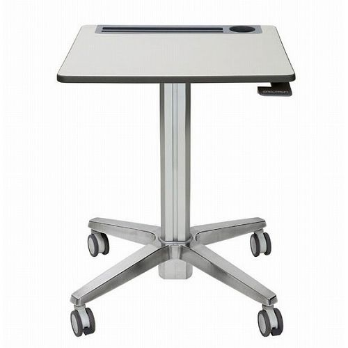 ERGOTRON LearnFit Travel Adjustable Standing Desk Clear Anodized 24-547-003(代引不可)