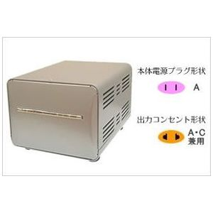 カシムラ 海外国内用型変圧器220-240V/1500VA NTI-20(代引不可)