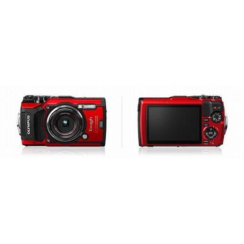 オリンパス (Tough)OLYMPUS デジタルカメラ Tough TG-5(1200万画素/光学x4/レッド) TG-5 RED(代引不可)
