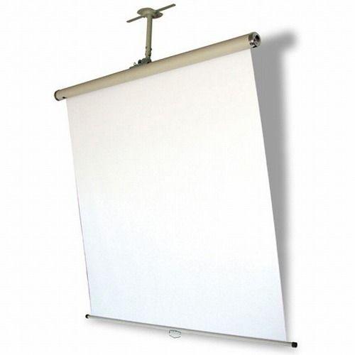 オーエス 回転傾斜式スクリーン 天井設置タイプ/汎用型 KK-1515D-00_WG107(代引不可)