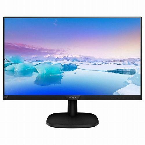 Philips Electronics 24.5インチ ワイド液晶モニタ(1920x1080/HDMI/DisplayPort/D-Sub15ピン/ブラック/スピーカー) 253V7LJAB/11(代引不可)