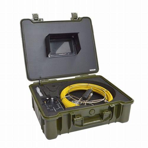 サンコー 配管用内視鏡スコープpremier20Mメーターカウンター付き CARPSCA21(代引不可)