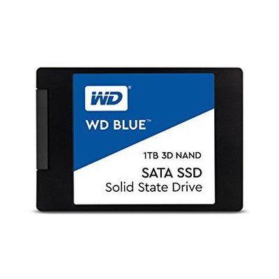 ウエスタンデジタル WD Blue SSD SATA6Gb/s 1TB 2.5inch 3DNAND WDS100T2B0A(代引不可)