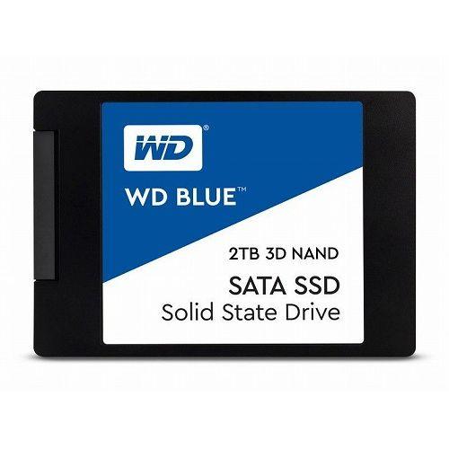ウエスタンデジタル WD Blue SSD SATA6Gb/s 2TB 2.5inch 3DNAND WDS200T2B0A(代引不可)