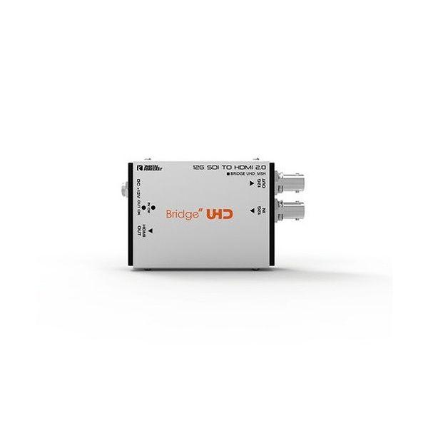 エーディテクノ 4K UHD対応 超小型軽量12G-SDI-)HDMI 2.0 コンバーター UHD_MSH(代引不可)【送料無料】