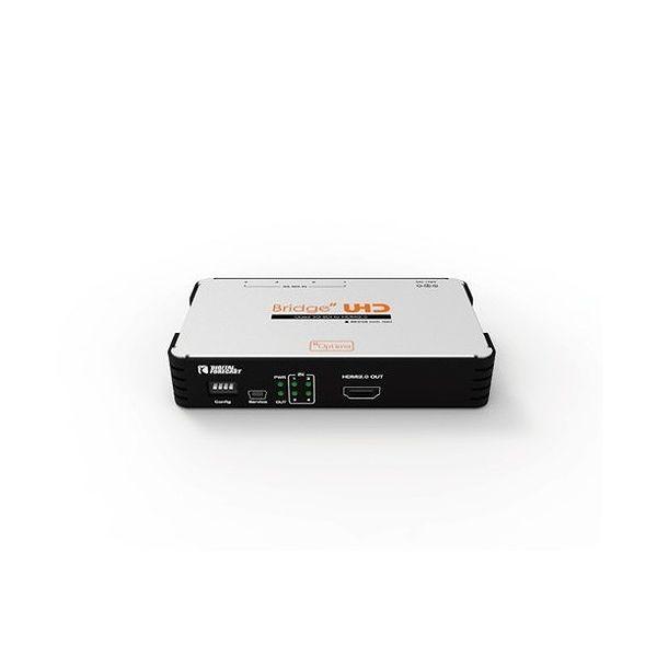 エーディテクノ 4K UHD対応 クワッド3G-SDI-)HDMI 2.0コンバーター UHD_QSH(代引不可)