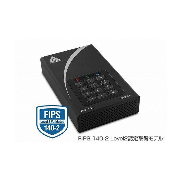 日本製 APRICORN Aegis Padlock DT FIPS - USB 3.0 Desktop Drive ADT-3PL256F-10TB (R2) ADT-3PL256F-10TB(R2)(), ツナチョウ 0527ee2f