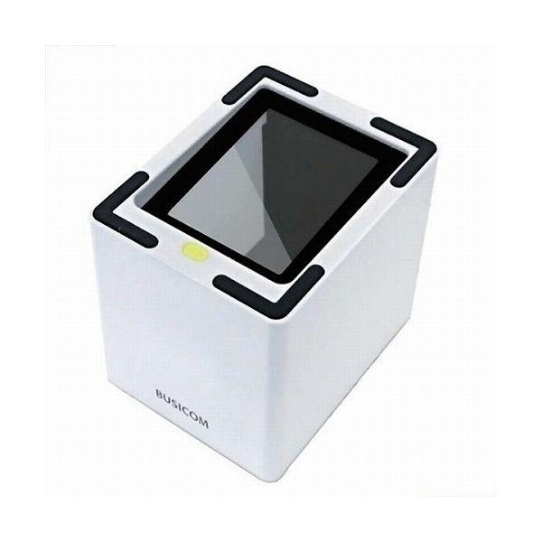 ビジコム デスクトップQRコードリーダー(USB・白) (BUSICOM) BC-NL3000U-W(代引不可)【送料無料】