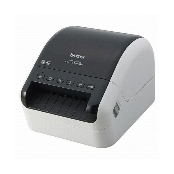 ブラザー工業 感熱ラベルプリンター(300dpi 無線・有線LAN Bluetooth USB)QL-1115NWB(代引不可)【送料無料】