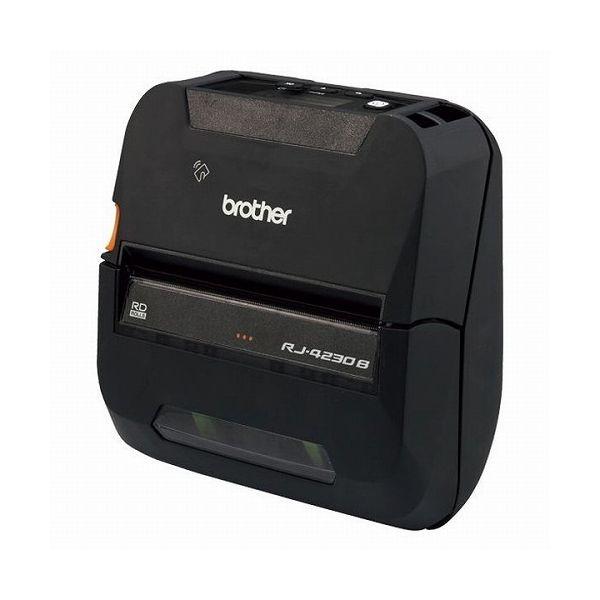 ブラザー工業 4インチ感熱モバイルプリンター(ラベル・レシート兼用モデル USB Bluetooth)RJ-4230B(代引不可)【送料無料】