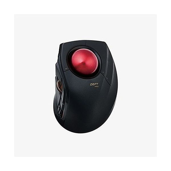 エレコム トラックボールマウス 人差指 8ボタン チルト機能 有線 無線 Bluetooth 1000万回耐久 ブラック M-DPT1MRBK(代引不可)【送料無料】