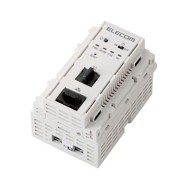 エレコム 法人向けマルチメディアコンセント対応無線AP 11ac 733Mbps AC給電 WAB-S733IW-AC(代引不可)【送料無料】